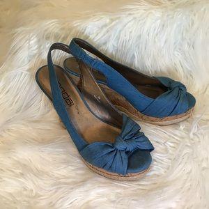 Shoes - Blue espadrilles